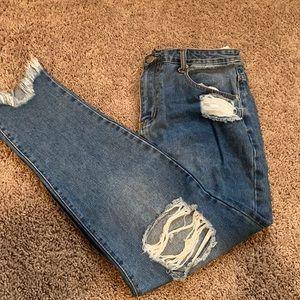 BooHoo High Rise Jeans